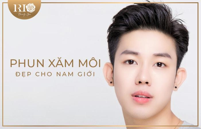 Địa chỉ phun xăm môi đẹp cho nam giới tại Hà Nội