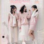 Cách phối hợp thời trang hiện đại theo màu pastel